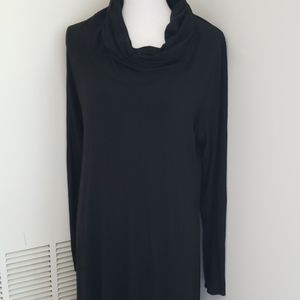 Eileen Fisher Funnelneck Sweater Dress